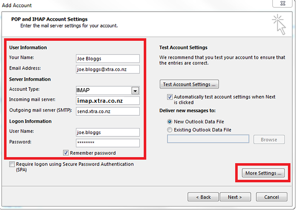 how to add and remove accounts from my computer