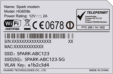 Connect to your new Spark modem via wireless | Spark NZ
