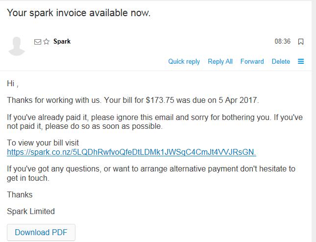 Scam alerts | Spark NZ