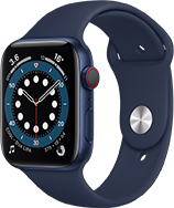 Blue Apple Watch series 6, compare Specs with Apple watch SE. Choose the right watch for you.