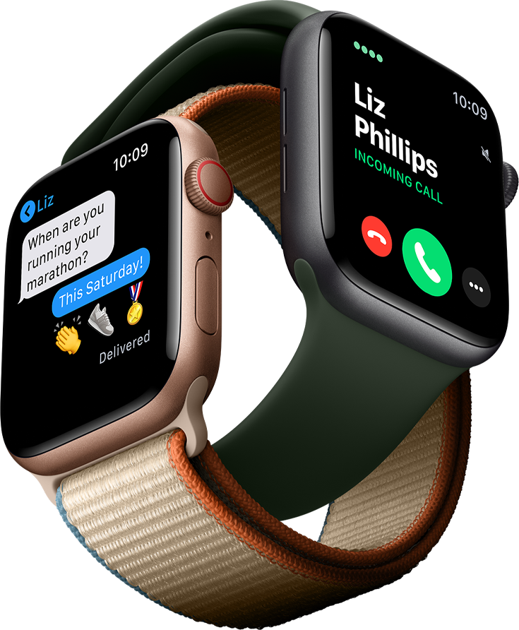 Apple watch series 6, better with a Spark One Number plan. Enabling full LTE functions for GPS, calls and texts, all from the watch.