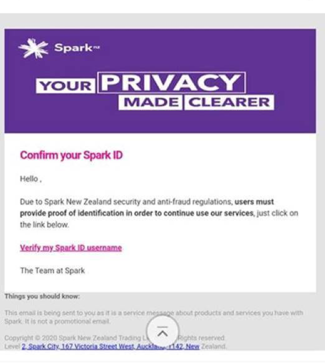 Scam-Spark-privacy-email
